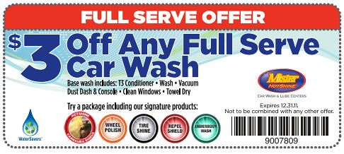 On average, Mister Car Wash offers 0 codes or coupons per month. Check this page often, or follow Mister Car Wash (hit the follow button up top) to keep updated on their latest discount codes. Check for Mister Car Wash's promo code exclusions. Mister Car Wash promo codes sometimes have exceptions on certain categories or brands/5(12).