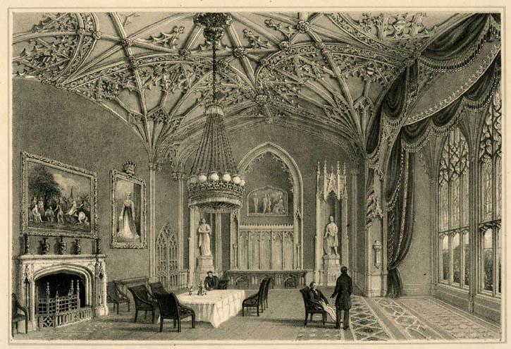 Eaton Hall Interior The Seat Of The Grosvenor Family