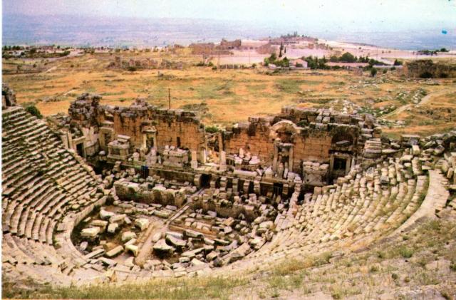 Denizli Turkey  city photos : Ancient Theatre Of Hierapolis, Pamukkale, Denizli, Turkey | Flickr