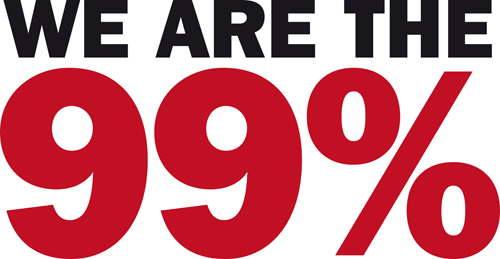 We are the 99 percent ...