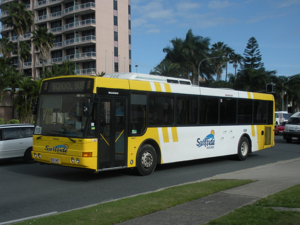 Surfside Bus Lines Gold Coast Volvo B7rle 838 Working A