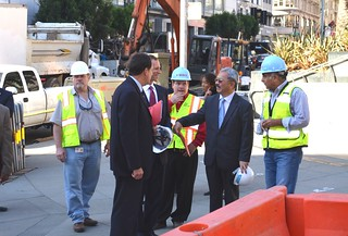 Mayor Lee Tours Central Subway | by Mayor Ed Lee
