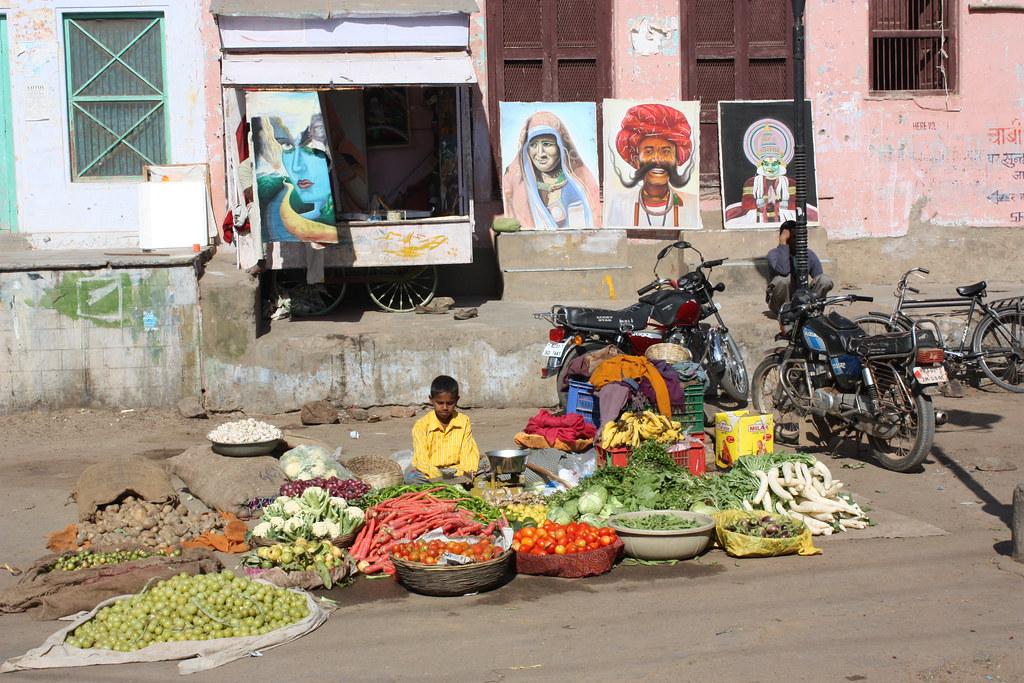Street Food Vendors In India