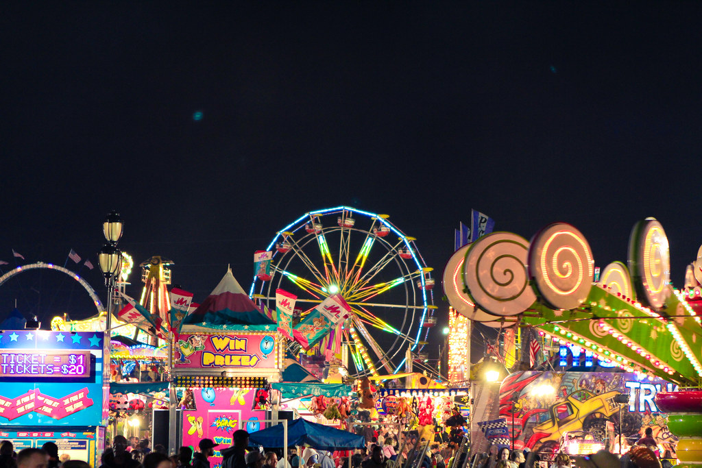 carnival lights dan hacker photography flickr
