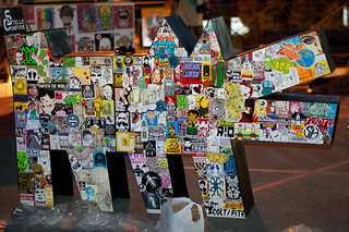 "12th Stage ""Stick On Haring!"" in Tour - ""LiberARTI Street Art Festival"" in Montaione, Firenze (Italy) 
