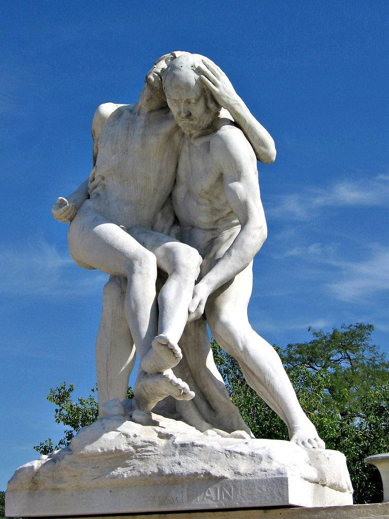 Good samaritan sculpture jardin des tuileries paris - Sculpture jardin des tuileries ...