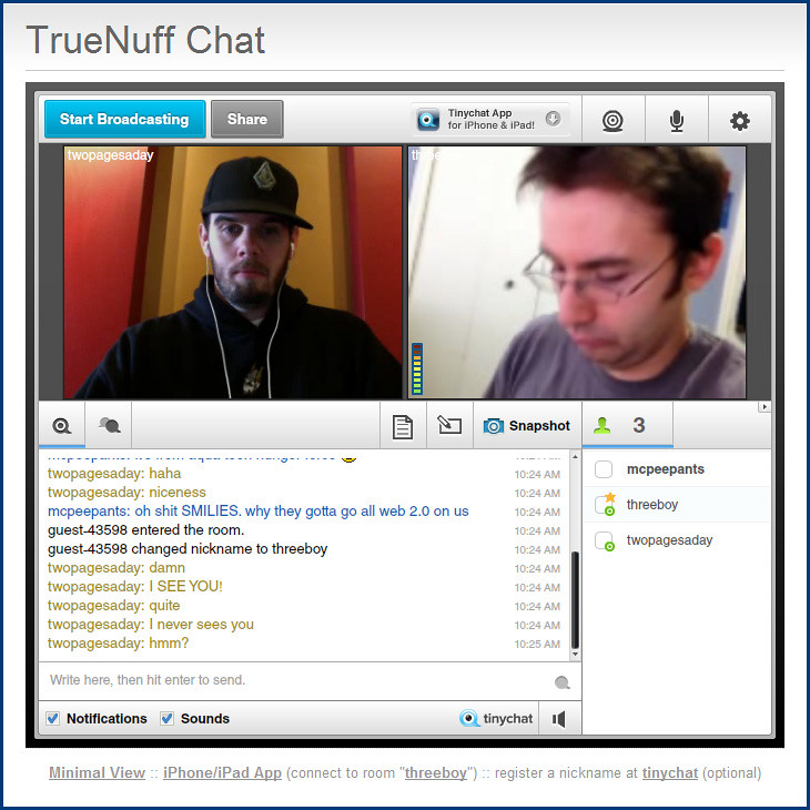 chatroulette free webcam