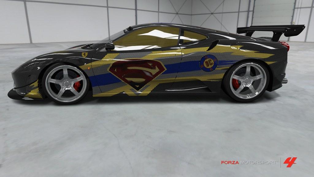 Ferrari Paint Job