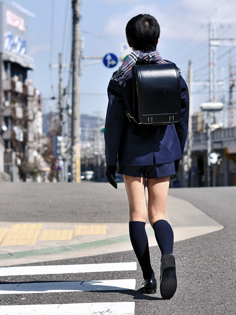 school uniform with naby