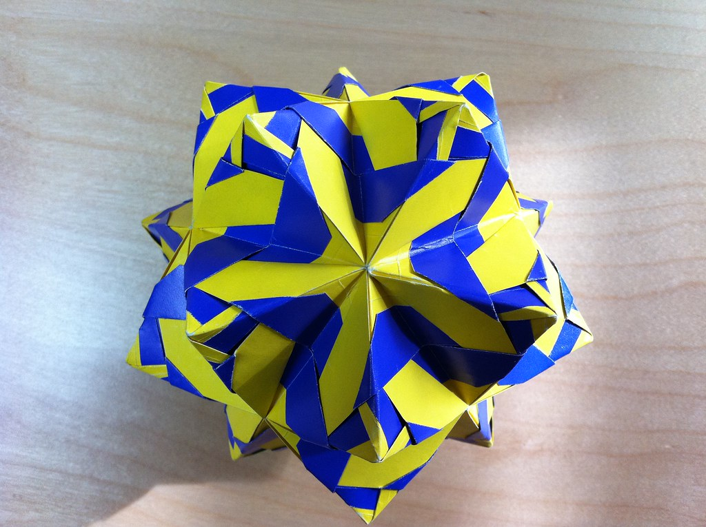 Hurricane Kusudama Instructions 001 Martin Sejer Andersen Flickr