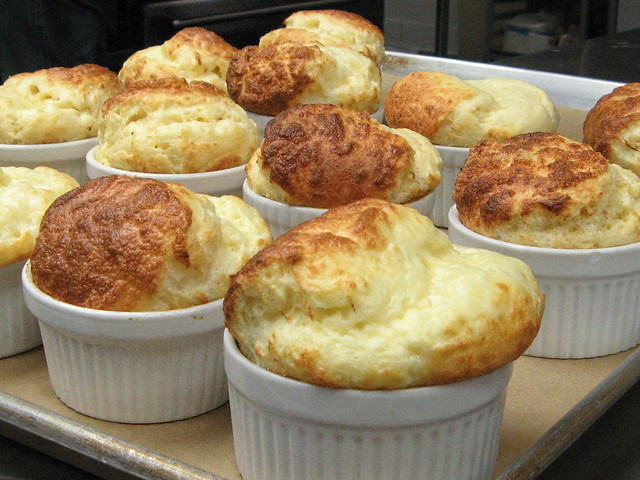 cheese souffle | Flickr - Photo Sharing!
