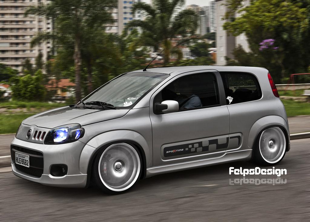 Virtual Tuning Fiat Uno Sporting Edit Felipe Vasti Flickr
