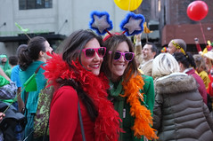 Two Colorful Ladies @ Rainbow Parade @NewYork_CM