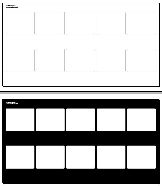10 frame storyboard 30 x 16 in. | Editable Adobe InDesign st… | Flickr