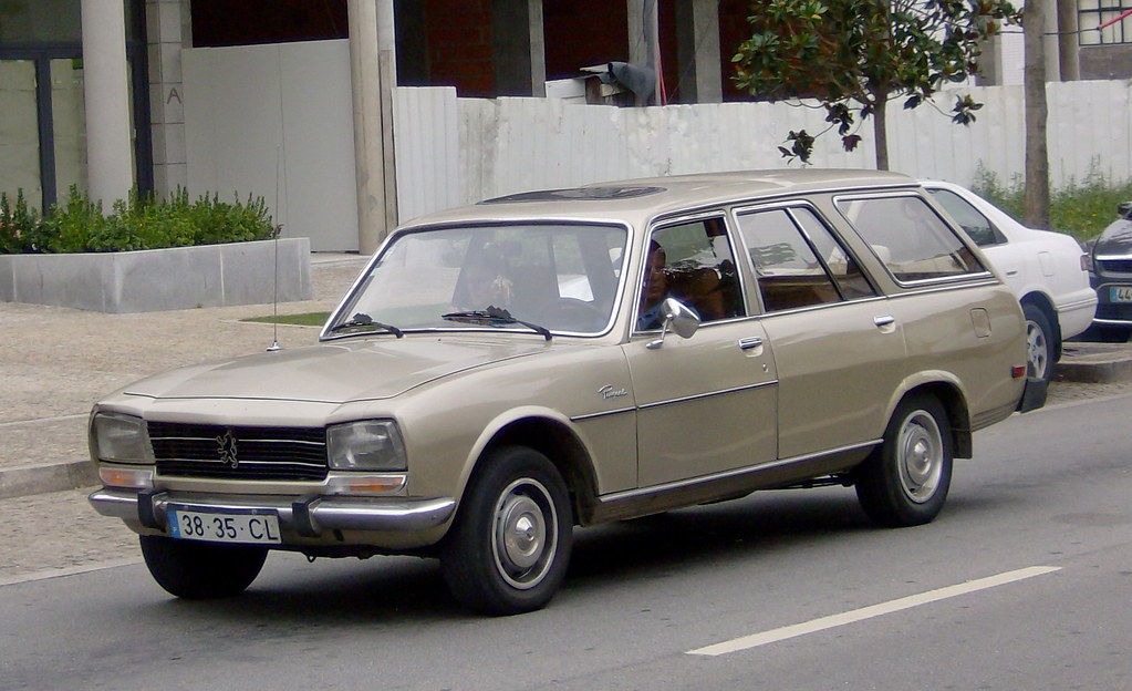 1980 peugeot 504 break diesel us spec but with euro spec f flickr. Black Bedroom Furniture Sets. Home Design Ideas
