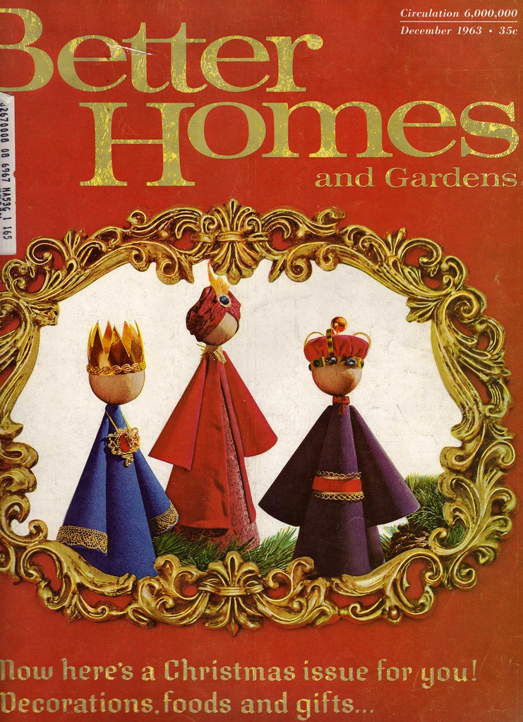 Cover from better homes and gardens december 1963 for Yahoo7 better homes and gardens episodes