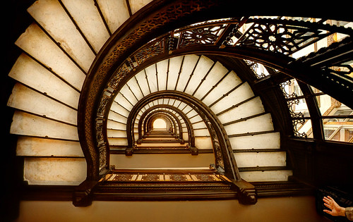 The Oriel Staircase at the Rookery Building | by Chris Smith/Out of Chicago