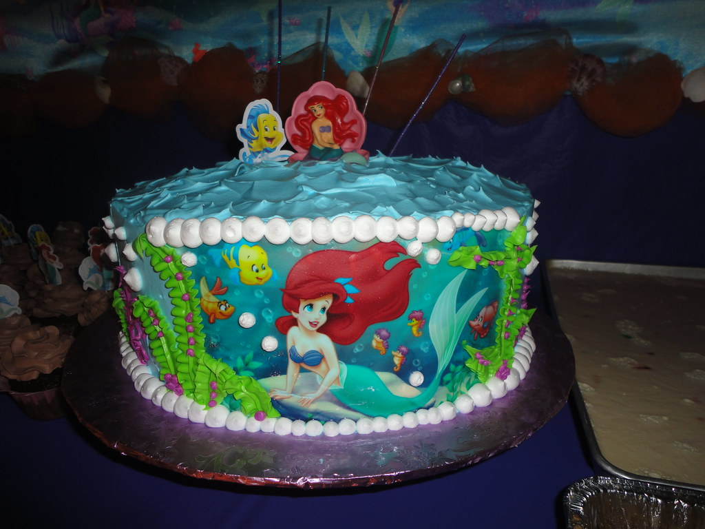 Images Of Ariel Birthday Cakes