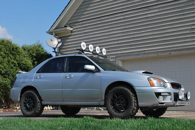 Lifted Wrx 3 Suspension 05 Fxt Struts And Springs 05