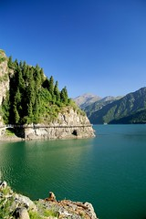 Heaven Lake of Tian Shan