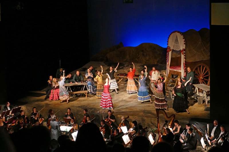 Opera v štirih dejanjih CARMEN
