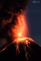 The powerful Colima Volcano - Colima, México