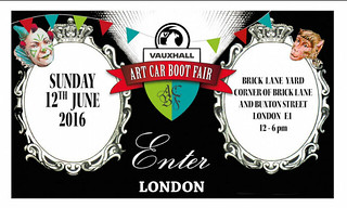 Art Car Boot Fair London 2016 | by fionalongart