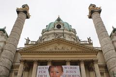 La iglesia barroca de San Carlos Borromeo de Viena