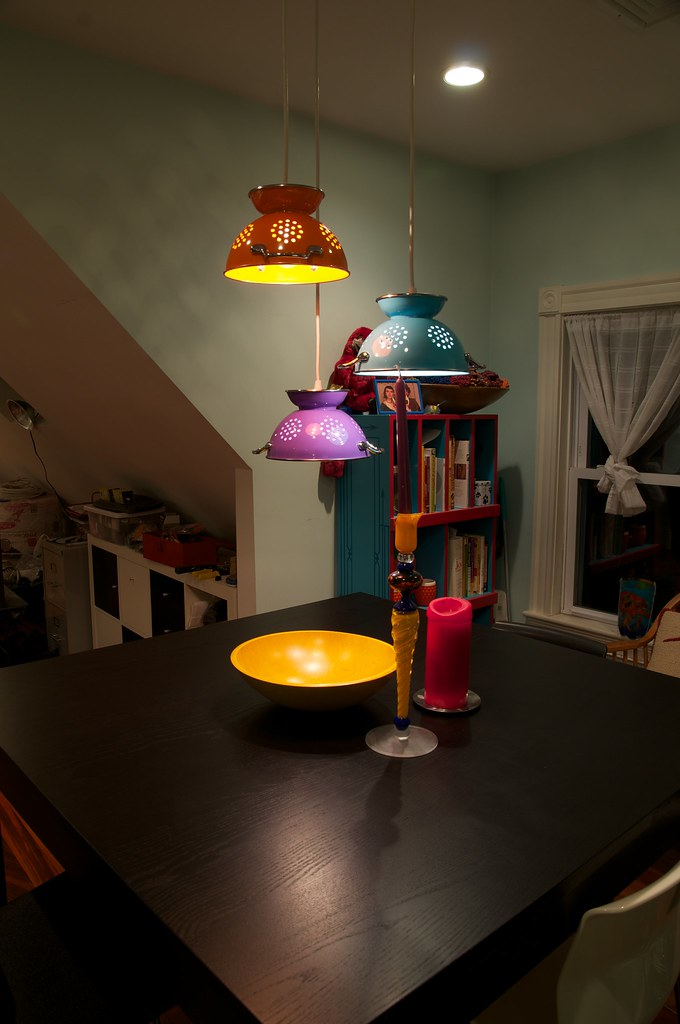 ... Colander Lamps | by Eric Herot