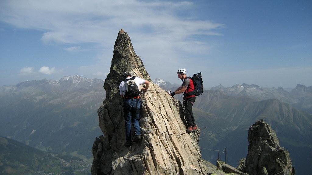 Klettersteig Eggishorn : Ralf und heinz im klettersteig via ferrata am eggishorn u flickr