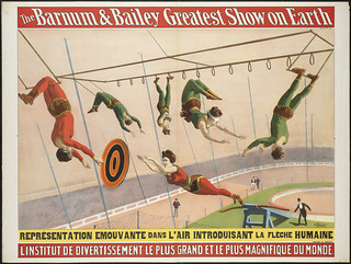 The Barnum & Bailey greatest show on earth : L'Institut de divertissement le plus grand et le plus magnifique du monde. | by Boston Public Library