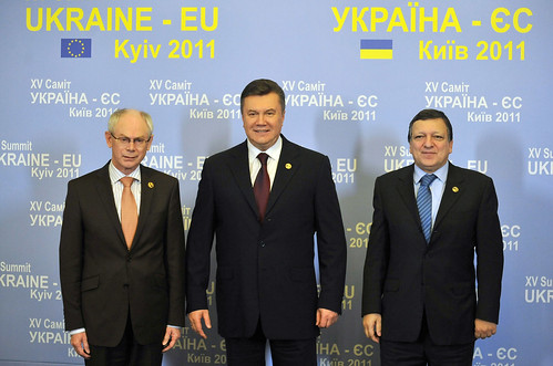 Viktor Yanukovych Family Family photo of Presid...