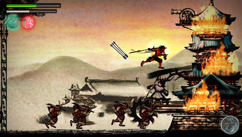 Sumioni: Demon Arts for PS Vita: Classic Japanese Art, Modern Platforming Action - 2 | by PlayStation.Blog