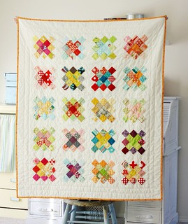 Granny Squares Scrappy Quilt | by BlueElephantStitches