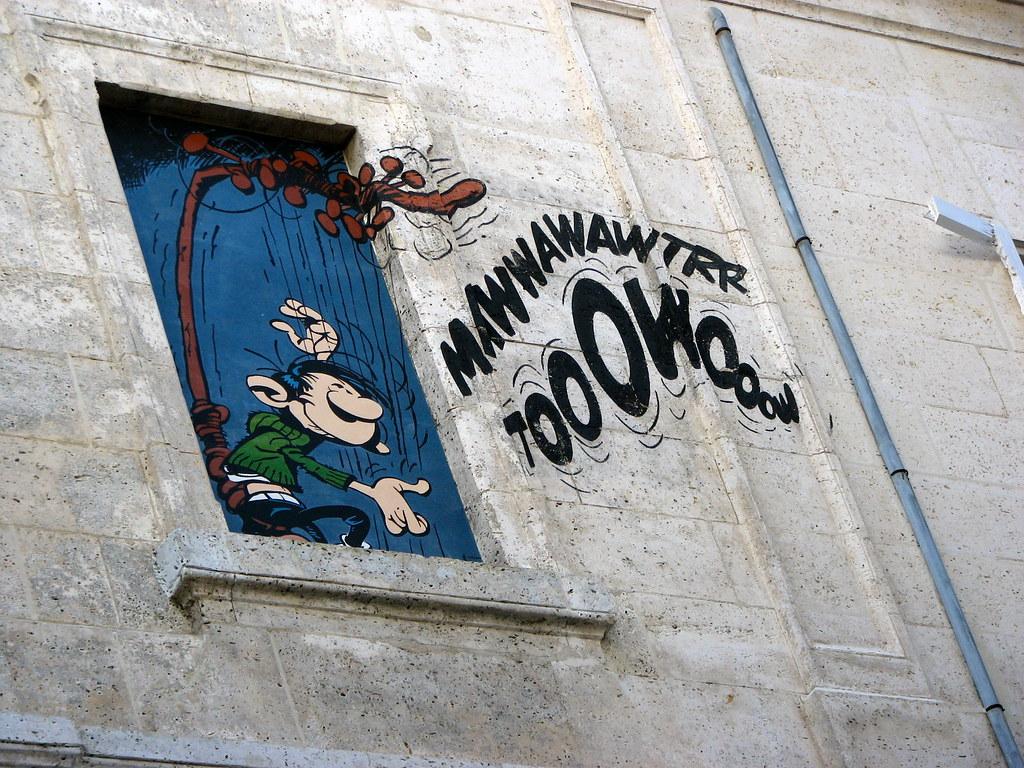 Comics building Angouleme