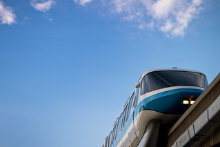 Epcot - Blue Skies Monorail | by Jeff Krause Photography