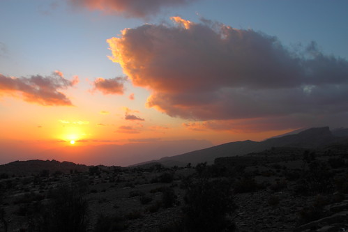 Jebel Shams sunset, Oman | by monchoparis