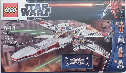9493 X-wing Starfighter Box Front | by fbtb