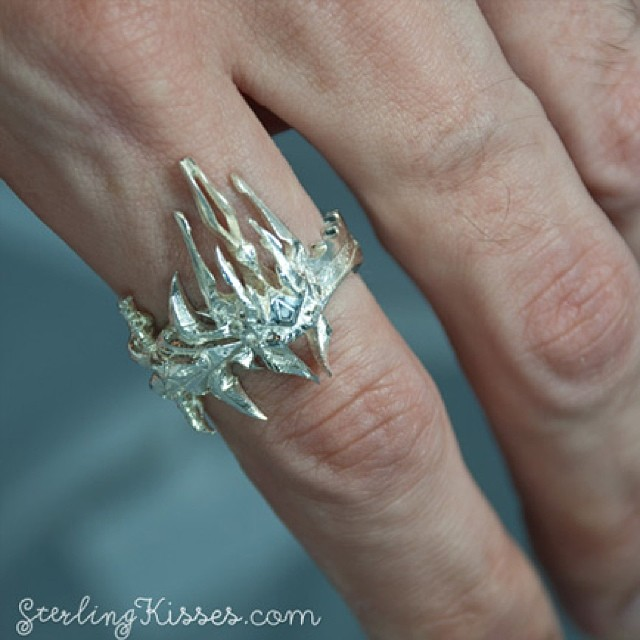 Feel the power of Frostmourne Lich King Ring available on Flickr