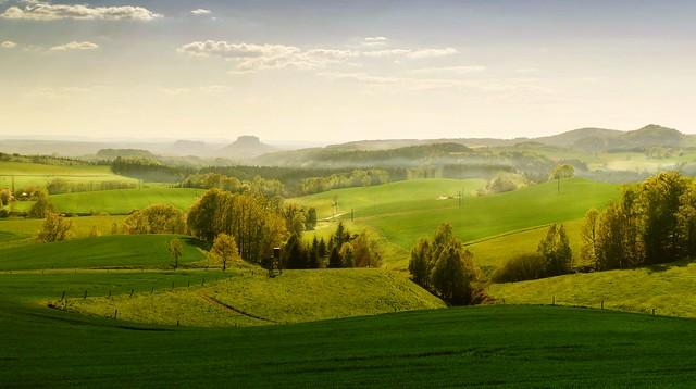 grünes Land
