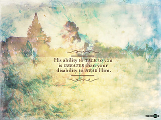 His ability is greater than your disability (1600x1200, 1024x768) | by lizzaeh