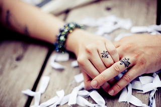 wedding ring tattoos | by morgan.cauch