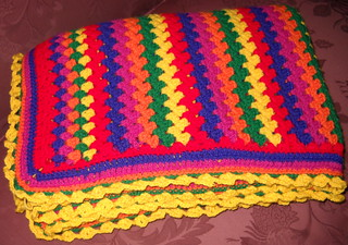 Rainbow Grany stripe2 | by Crochet Attic