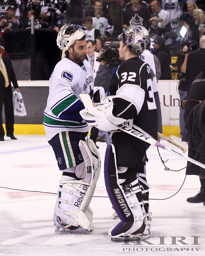 Roberto Luongo & Jonathan Quick | by Ikiri Photography