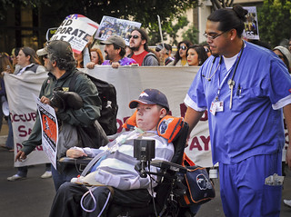 Occupy San Diego, Day of Human Rights (Dec. 10): Human Rights March led by Raul | by johnnyn.