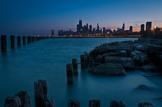 Chicago Skyline From Fullerton Beach | by rseidel3