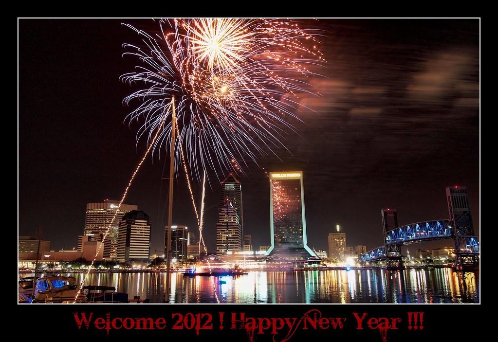 happy new year 2012 jax fireworks by krazy diamnd