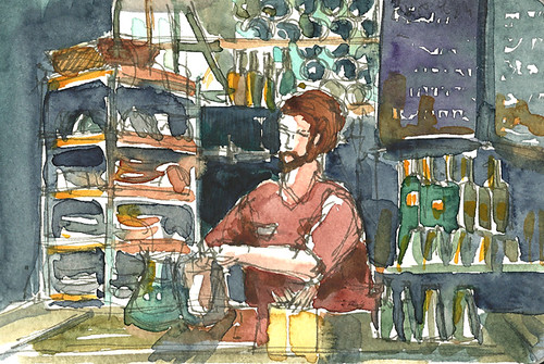 Bartender at The Salty Pig, Back Bay, Boston, MA - SOLD | by sumacm