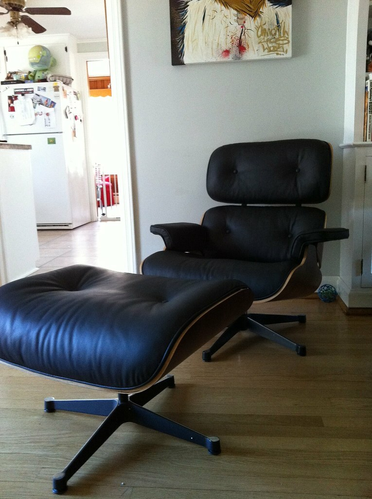 Manhattan Home Design Eames style lounge chair | After weeks… | Flickr