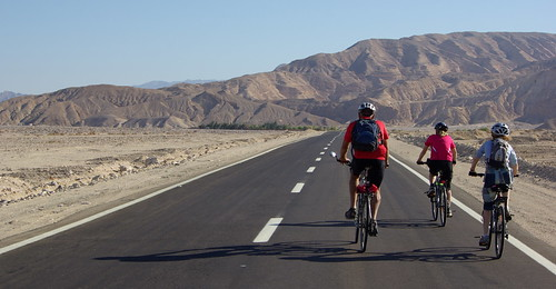 Cycling in The Sianai Desert | by The Hungry Cyclist